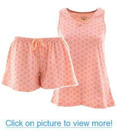 Short Peach Pajamas for Women