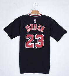 Adidas NBA 2014 2015 Chicago Bulls 23 Michael Jordan New Revolution 30 Swingman Black Jersey with Sleeve jersey
