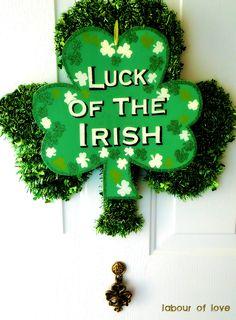 """Luck of """"his"""" Irish"""