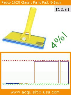 Padco 1628 Classic Paint Pad, 8-Inch (Tools & Home Improvement). Drop 79%! Current price $12.51, the previous price was $61.02. http://www.adquisitio-usa.com/padco-incorporated-usa/padco-1628-classic-paint