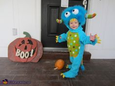 Baby Monster - Halloween Costume Contest via @costumeworks
