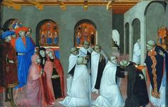 A Miracle of the Eucharist, by Stefano di Giovanni called Sassetta (1392-1450)