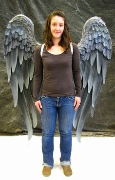 danielle hurley design TruWings Hawk Girl Wings