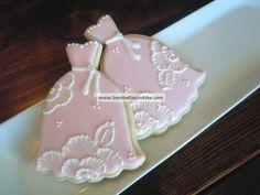 Bambella Cookie Boutique | Bridal...add names; fun way to ask bridesmaids