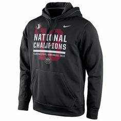 Florida State Seminoles Nike BCS National Champions Locker Room Pullover Hoodie