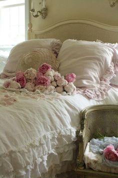 Imagem de bed, home, and pink
