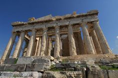 Pictures of Greece - - the Parthenon is a temple of the Greek goddess Athena Parthenon, Acropolis, Greece Pictures, Athena Goddess, Athens Greece, Free Travel, Travel Abroad, Ancient Greece, Travel Pictures