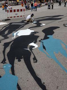 Herbert Baglione/ 1000 Shadows, Frankfurt