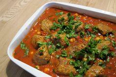 EGOSHE.dk - En madblog med South Beach opskrifter og andet godt...: Indisk inspireret ret med lammekødboller