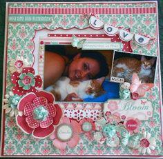 Love - Scrapbook.com Teresa Collins - Spring Fling Collection