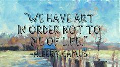 "Albert Camus-- Read about his book ""The Stranger.""  http://www.shmoop.com/the-stranger/"
