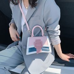 Ansloth Patchwork Jelly Crossbody Bag Brand Women Bags Candy Color Clear Bags Transparent Lady's Bag Bag Pvc Mini Handbag HPS892 Clear Bags, Mini Handbags, Summer Bags, Candy Colors, Hermes Kelly, Luggage Bags, Crossbody Bag, Bag Design, Shoulder Bag