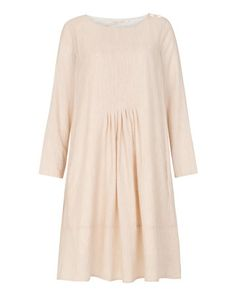 pale pink tunic dress.