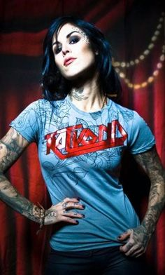 See the latest Kat Von D products and photos. Browse and shop Kat Von D and other celebrity fashion brands on Coolspotters. Sexy Tattoos, Girl Tattoos, Tatoos, Rose Tattoos, Kat Von D Tattoos, Inked Girls, Tattooed Girls, Girl Crushes, My Idol