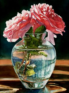 """Jane Freeman ~ Made In Poland ~ """"This was so fun to paint with all the texture in the water and the high contrast of light making it feel very dramatic."""""""