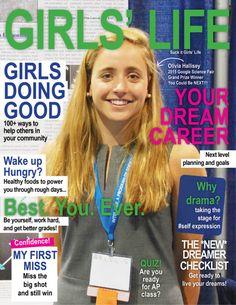 Appalled Graphic Designer Shows Girls' Life Magazine What Their Cover Should Look Like