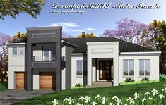 Tullipan Home Designs: The Devonport MKII Metro Facade. Visit www.localbuilders.com.au/builders_nsw.htm to find your ideal home design in New South Wales