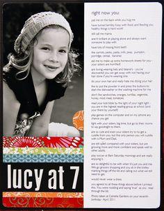 Simple Aussie Girls: lucy at 7