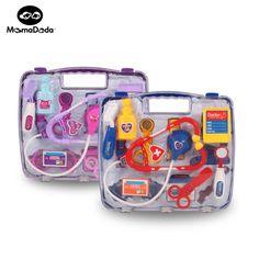 14 pcs/set seri dokter berpura-pura play set anak play house toys toys simulasi medis kit klasik obat untuk gadis & boy
