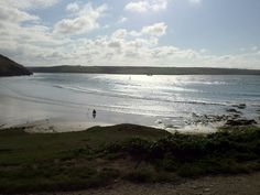 Beautiful shot of Daymer Bay Beautiful Scenery, Most Beautiful, Cornwall, Seaside, Envy, Camel, Shots, River, Beach