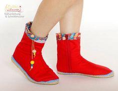 Espadrilles Stiefel  bei Makerist