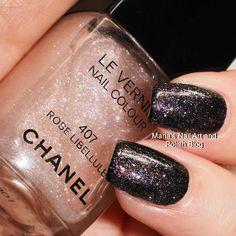 Chanel Rose Libellule 407