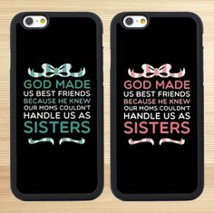 A Pair God Made Us Best Friends Couples Cases for Iphone 6 6s 4S 5S SE,,Iphone 6 Plus,Iphone 7 Case,Iphone 7 Plus,Galaxy S6 S5 S4 S3 S7,Note 6 5 4 3 2,Galaxy S5 Mini,S6 Active,S6 Edge,Galaxy S6 Edge Plus,Samsung Galaxy S7 Edge,S7 Plus,Galaxy S7 Active - Couples Cases