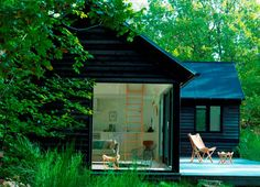 Fritidshuset med skøn terrasse