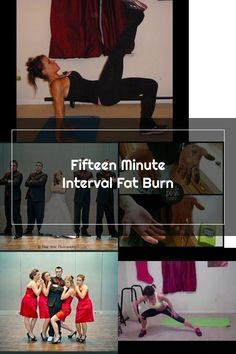 Fifteen Minute Interval Fat Burn. Burn fat and calories at home. Melissa Bender, Fat Burning, Burns, Wrestling