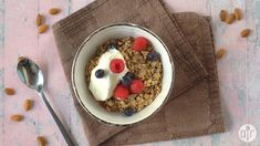 Crunchy Sugar-Free Granola Sugar Free Granola, Bright Line Eating Recipes, Morning Breakfast, Side Recipes, Pumpkin Pie Spice, Low Sugar, Cooking Recipes, Healthy Recipes