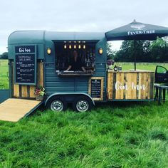 At a gorgeous wedding today! Massive congratulations to the lovely Chris and Emma! Catering Van, Catering Trailer, Food Trailer, Food Truck Business, Catering Business, Food Trucks, Wine Truck, Horse Box Conversion, Coffee Food Truck