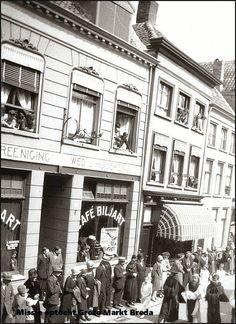 Halstraat Breda, nu cafe de Bommel