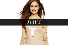 Day 4: A Holiday Sweater That's Seriously Chic | StyleCaster, $88