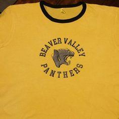 Vintage school shirt, custom shirt, ringer, team, school colors