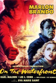 On the Waterfront 1954.  It won a record 8 Academy Awards Best Picture, Best Actor, Best Actress, Best Director, Best Writing, Best Cinematography, Best Art Direction-Set Decoration, Best Film Editing.