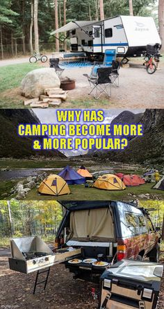 Camping's popularity has grown by enormous leaps and bounds and the perfect example of this is the whopping 72% increase in the number of campers who camp three or more times a year in the United States. The reasons why(click to continue)#camping #tent #hiking #tactical #outdoors #campingfood #campinghacks #hikinghacks #sleepingbag #campingmusthaves #hikingandcamping #campinggear #campingtents #campingglamping #campingsurvival #bigtents #tactical #offthegrid #campfire #fun #adventure