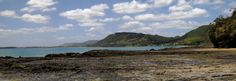 From the reef looking back towards Ahipara.