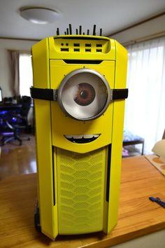 Minions PC case Mod