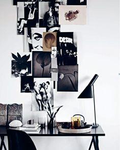 Eclectic Home Office Inspiration · Workspace Design · Creative Studio · Artist Desk · Inspiration Wall Inspiration Wand, Workspace Inspiration, Decoration Inspiration, Interior Inspiration, Inspiration Boards, Autumn Inspiration, Design Inspiration, Design Ideas, Office Workspace