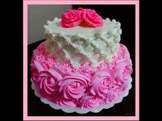 Como montar bolo de andar - YouTube Beautiful Cakes, Amazing Cakes, Creative Birthday Cakes, Russian Piping Tips, Tricks, Frosting, Cupcake Cakes, Fondant, Cake Decorating