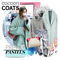 """Hot Trend: Cocoon Coats"" by barbarela11 ❤ liked on Polyvore featuring мода, Chictopia, Chicnova Fashion и Giuseppe Zanotti"