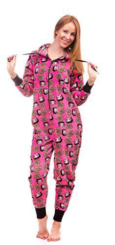 Betty Boop Women's Warm and Cozy Plush Onesie Pajama (Small, Hot Pink) Betty Boop http://www.amazon.com/dp/B017OAQD5O/ref=cm_sw_r_pi_dp_XHVTwb07VN2FW