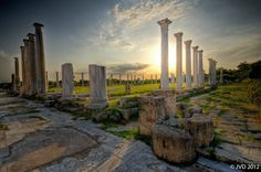 Things To Do Around Famagusta, North Cyprus travel guides Ancient Ruins, Ancient Greece, Malta, Places To Travel, Places To Visit, North Cyprus, Archaeological Site, Perfect World, Wonders Of The World