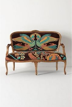 Anthropologie : Louisa Settee, Cockatoo | Sumally