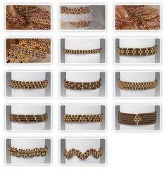 Simple Bracelets with Preciosa Twin™ seed beads - free tutorial.