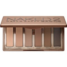 Urban Decay Naked2 Basics ($29) ❤ liked on Polyvore featuring beauty products, makeup, eye makeup, eyeshadow, beauty, fillers, eyes, backgrounds, phrase and quotes