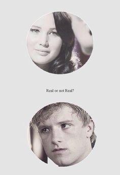 Hunger Games Quote / Mockingjay / Peeta / Katniss /