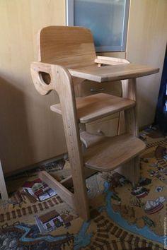Детская ручной работы. Ярмарка Мастеров - ручная работа. Купить Стульчик для кормления. Handmade. Золотой, детский стул