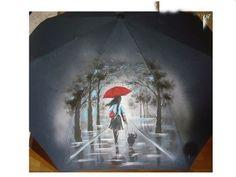Cute Umbrellas, Decoupage, Painting, Art, Umbrellas, Art Background, Painting Art, Kunst, Paintings