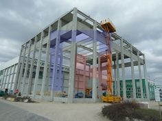 Extension of the cold storage house HOPI Madunice - detailed design and workshop documentation for the steel structure Steel Structure, Multi Story Building, Workshop, Cold, Storage, House, Design, Steel Frame, Purse Storage